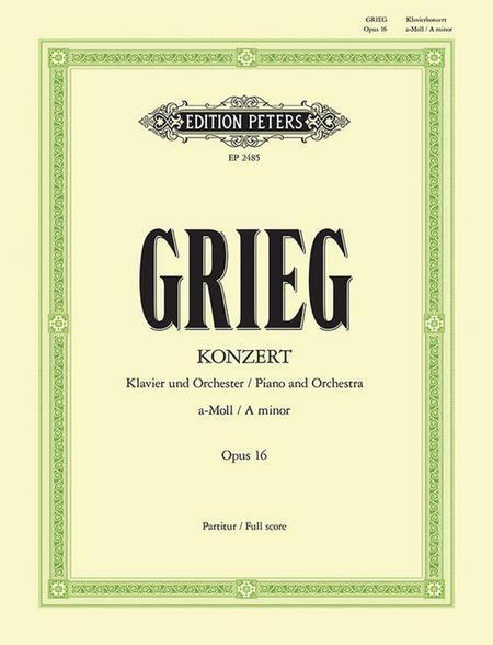 Piano Concerto in a minor Op.16