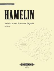 Variations on a Theme of Paganini (2011) - for solo piano