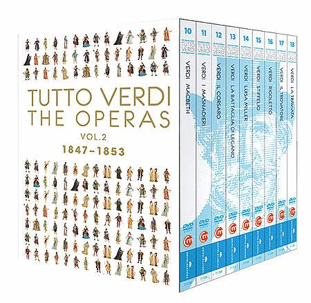 Volume 2: Tutto Verdi Operas 1847