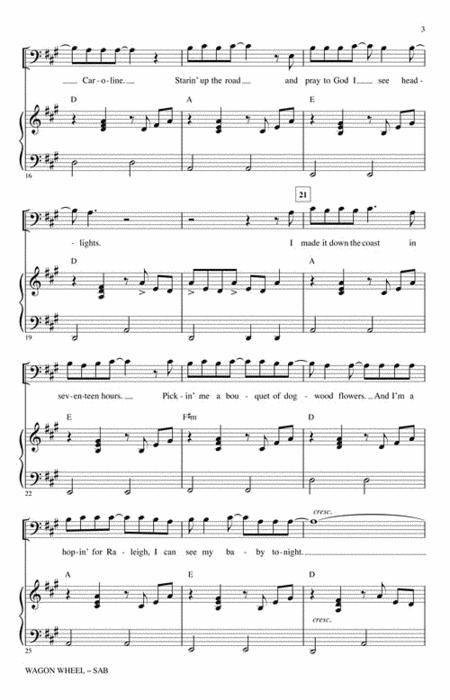 Wagon Wheel Violin Sheet Music Darius Rucker Erkal