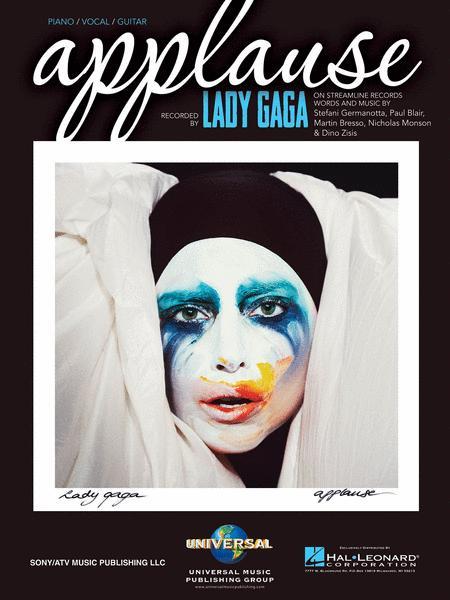 Applause Sheet Music By Lady Gaga - Sheet Music Plus
