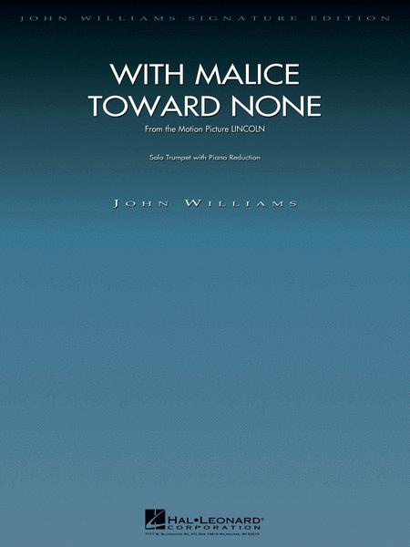With Malice Toward None (from Lincoln)