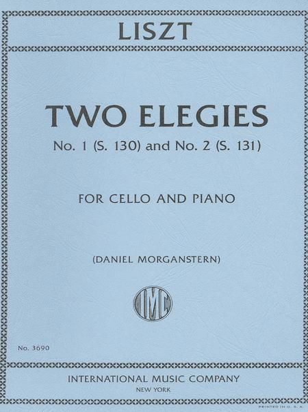 Two Elegies, No. 1 (S. 130) and No. 2 (S. 131)
