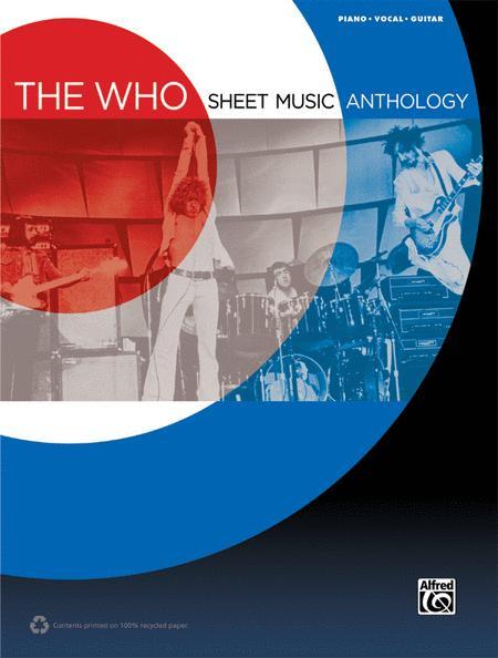 The Who -- Sheet Music Anthology