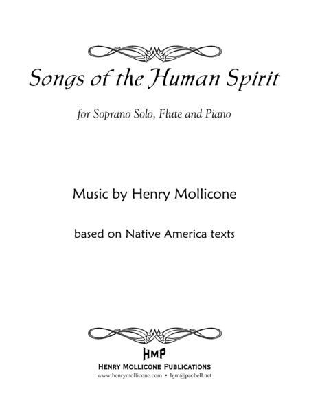 Songs of the Human Spirit (Score)