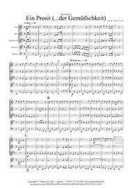 Ein Prosit - German Folk Song - Oktoberfest - Wind Quintet