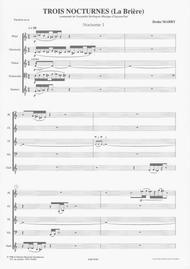 Trois Nocturnes (score)