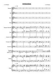 Cantata 2 mov IV Hosanna