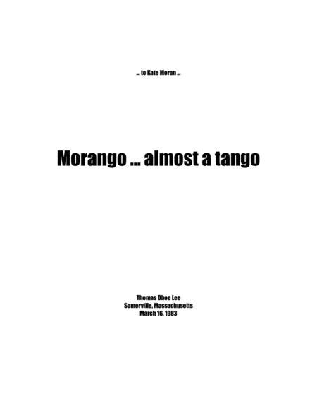 Morango ... almost a tango (1983) full score