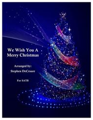 We Wish You A Merry Christmas (Canon) (for SATB)