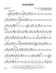 Rawhide - Percussion 1