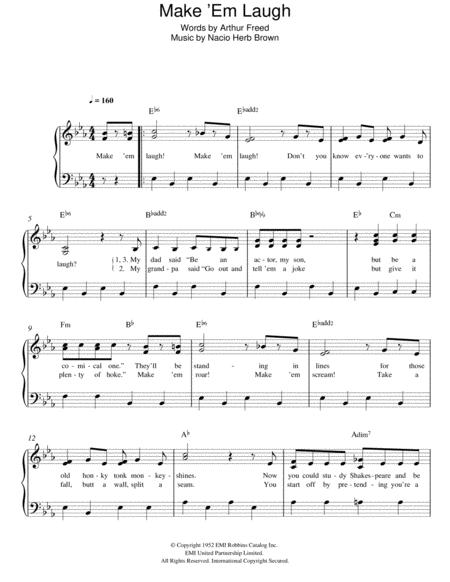 Make 'Em Laugh (from 'Singin' In The Rain')