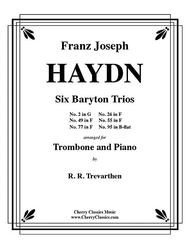 Six Baryton Trios for Trombone and Piano