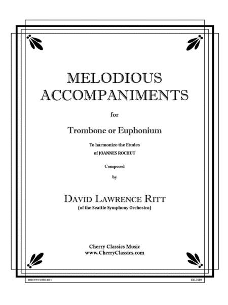 Melodious Accompaniments to Rochut Etudes Book 1 for Trombone or Euphonium