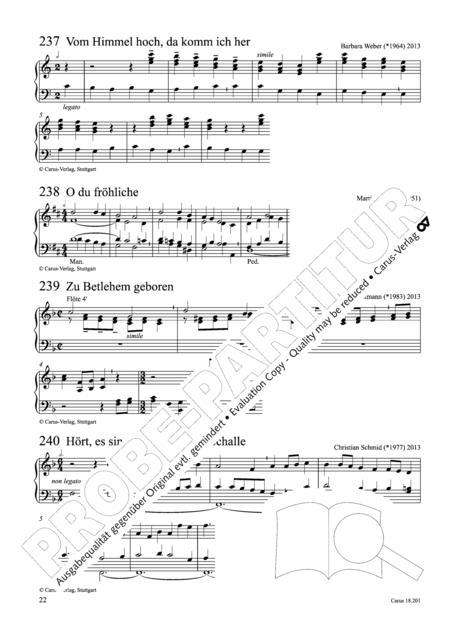 Preview Intonationen Zum Gotteslob Fur Orgel Und