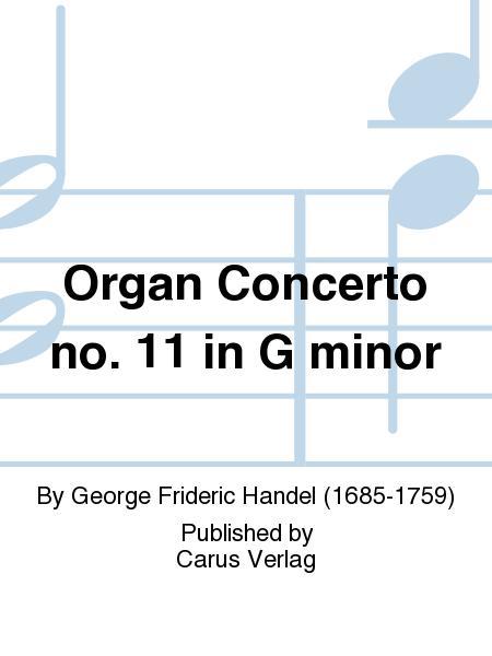 Organ Concerto no. 11 in G minor