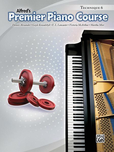 Premier Piano Course Technique, Book 6