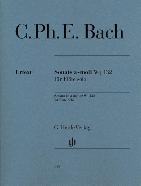 Sonata for Flute Solo Wq 132