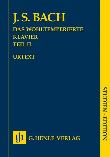 Johann Sebastian Bach - The Well-Tempered Clavier, Part II BWV 870-893
