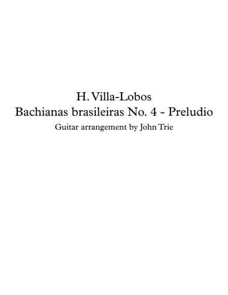 Bachianas brasileiras No 4 - Preludio