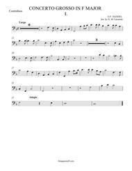 Concerto Grosso in F Major Movement I.