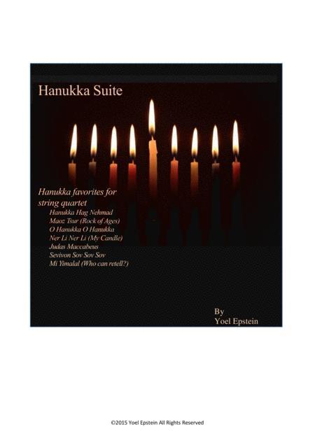 Hanukkah Suite for String Quartet