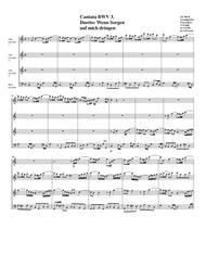 Duetto: Wenn Sorgen  auf mich dringen from cantata BWV 3