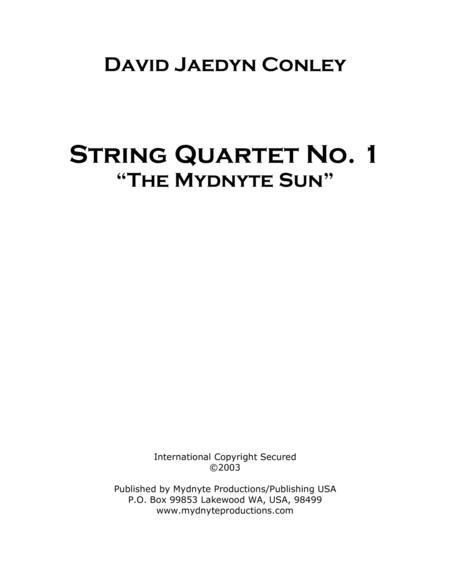 String Quartet No. I,
