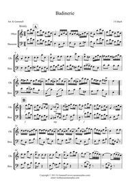 Badinerie – Oboe &