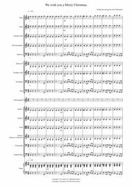 We Wish You A Merry Christmas For School Orchestra By Traditional Digital Sheet Music For Score Set Of Parts Download Print S0 11720 Sheet Music Plus