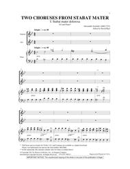 Two Choruses From