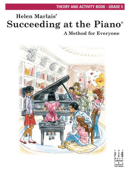 Succeeding at the Piano Theory and Activity, Grade 5 (w/CD)