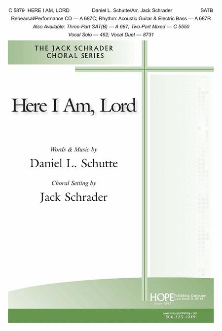 Here I Am, Lord Sheet Music By Daniel Schutte - Sheet Music Plus