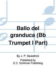 Ballo del granduca (Bb Trumpet I Part)