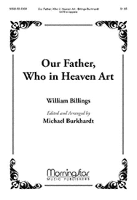 Our Father, Who in Heaven Art