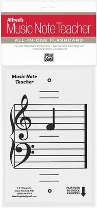 Alfred's Music Note Teacher: All-In-One Flashcard (White)