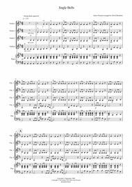 Jingle Bells (Jazzy Style!) for Violin Quartet