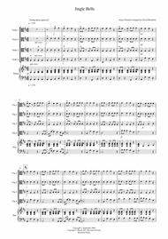 Jingle Bells (Jazzy Style!) for Viola Quartet
