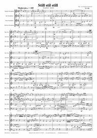 Still Still Still - Christmas song - Saxophone Quartet