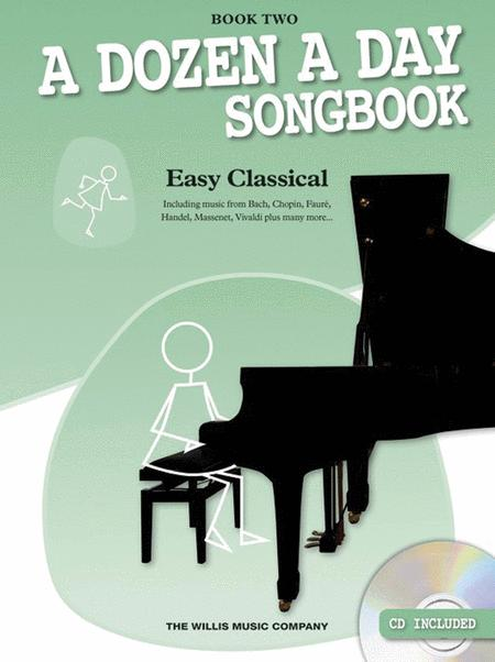 A Dozen a Day Songbook - Easy Classical, Book Two