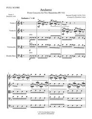 Download Andante - From Concerto For Two Mandolins RV 532 Sheet