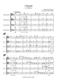 3 Equali (Cello Quartet)