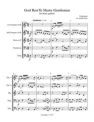 God Rest Ye Merry Gentlemen - for brass quintet