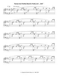 twenty-nine fireflies book iii, firefly xviii 0347 by thomas oboe lee -  digital sheet music for score - download & print s0.12630 | sheet music plus  sheet music plus