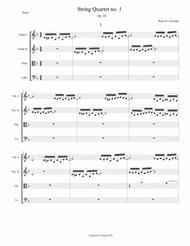 String Quartet no. 1, Op. 10 - LeGrand