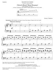 Christ Is Risen! Shout Hosanna! (Instrumental Parts)