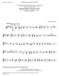 Eternal Father, Strong to Save (Trumpet Parts)