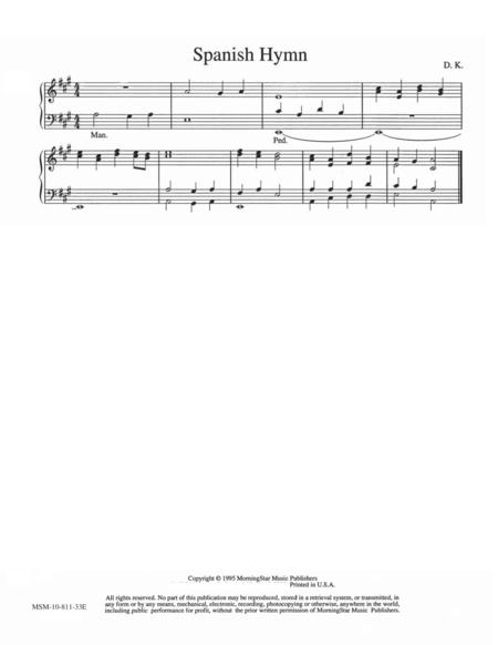 Spanish Hymn