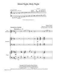 Silent Night, Holy Night from Flexible Hymn Accompaniments for Handbells