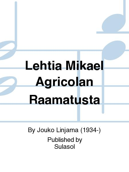 Lehtia Mikael Agricolan Raamatusta